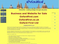 Oxfordfirst.co.uk
