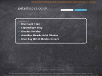 peterhodes.co.uk