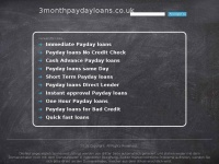 3monthpaydayloans.co.uk