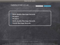 radstocknet.co.uk