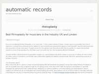 automaticrecords.co.uk