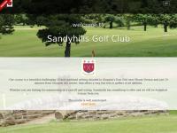 sandyhillsgolfclub.co.uk