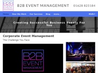 b2beventmanagement.co.uk