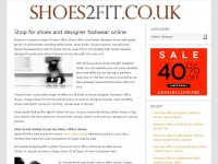 shoes2fit.co.uk