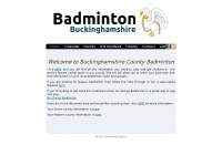 Badmintonbucks.co.uk