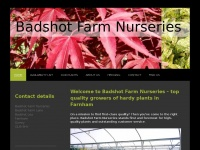 Badshotfarmnurseries.co.uk