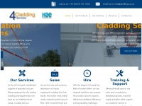 4claddingservices.co.uk
