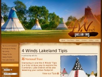 4windslakelandtipis.co.uk