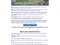 baptists4israel.co.uk