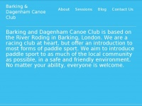 barkingcanoeclub.co.uk
