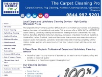 Thecarpetcleaningpro.co.uk