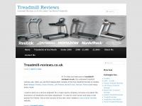 treadmill-reviews.co.uk