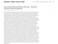 Becktontabletennisclub.co.uk