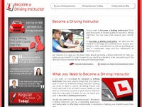 Become-a-drivinginstructor.co.uk