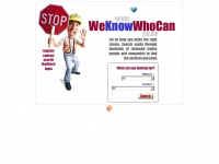 weknowwhocan.co.uk