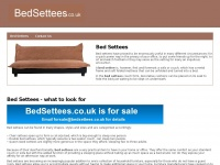 bedsettees.co.uk