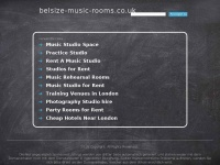 Belsize-music-rooms.co.uk