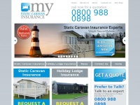 mystaticcaravaninsurance.co.uk