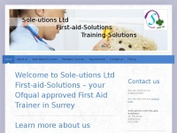 sole-utions-ltd-first-aid-solutions.co.uk