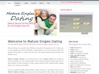 maturesinglesdating.co.uk