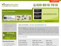 maxlocksmithbow.co.uk
