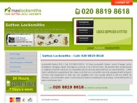 maxlocksmithssutton.co.uk