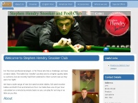 stephenhendrysnookerclub.co.uk