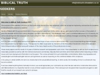 Biblicaltruthseekers.co.uk