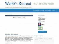 webbsretreat.co.uk