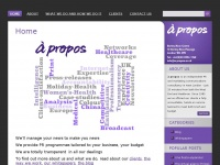 A-propos.co.uk