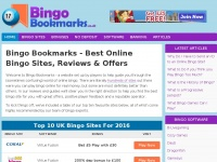 Bingobookmarks.co.uk