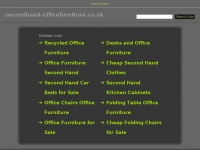 secondhand-officefurniture.co.uk