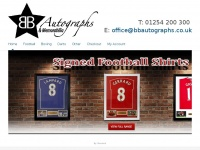 Bbautographs.co.uk