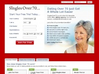 singlesover70.co.uk