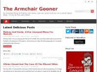 thearmchairgooner.co.uk