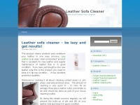 leathersofacleaner.co.uk