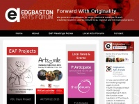 Edgbastonartsforum.co.uk