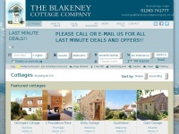 blakeneycottagecompany.co.uk