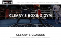clearysboxinggym.co.uk