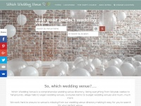 whichweddingvenue.co.uk
