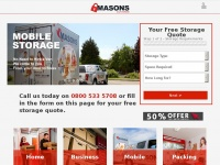 masonsselfstorage.co.uk