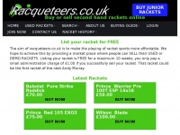 racqueteers.co.uk