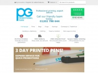 pgpromotionalitems.co.uk