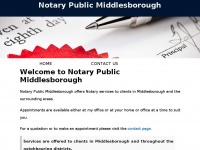 notarypublicmiddlesborough.co.uk