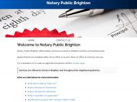 notarypublicbrighton.co.uk