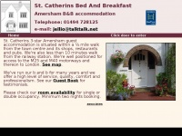 st-catherins-bandb.co.uk