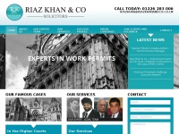 riazkhanandco.co.uk