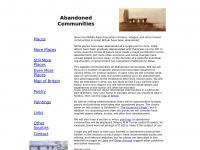 abandonedcommunities.co.uk