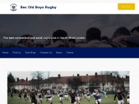 Becoldboysrfc.co.uk