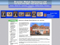 braziermetalspinners.co.uk
